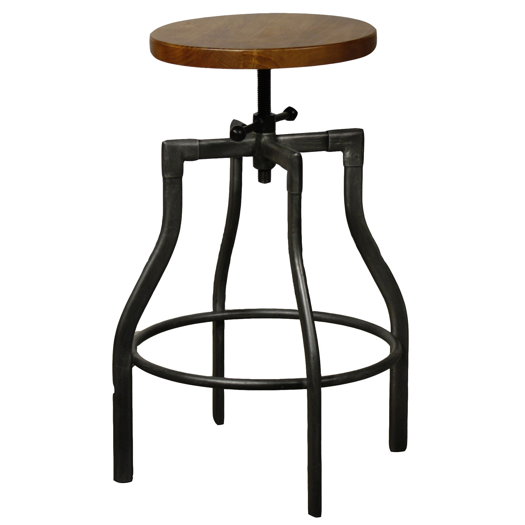 New Pacific Direct Industrial Adjustable Height Swivel Bar  : Industrial City Adjustable Height Bar Stool 958616 from www.wayfair.com size 1828 x 1828 jpeg 178kB