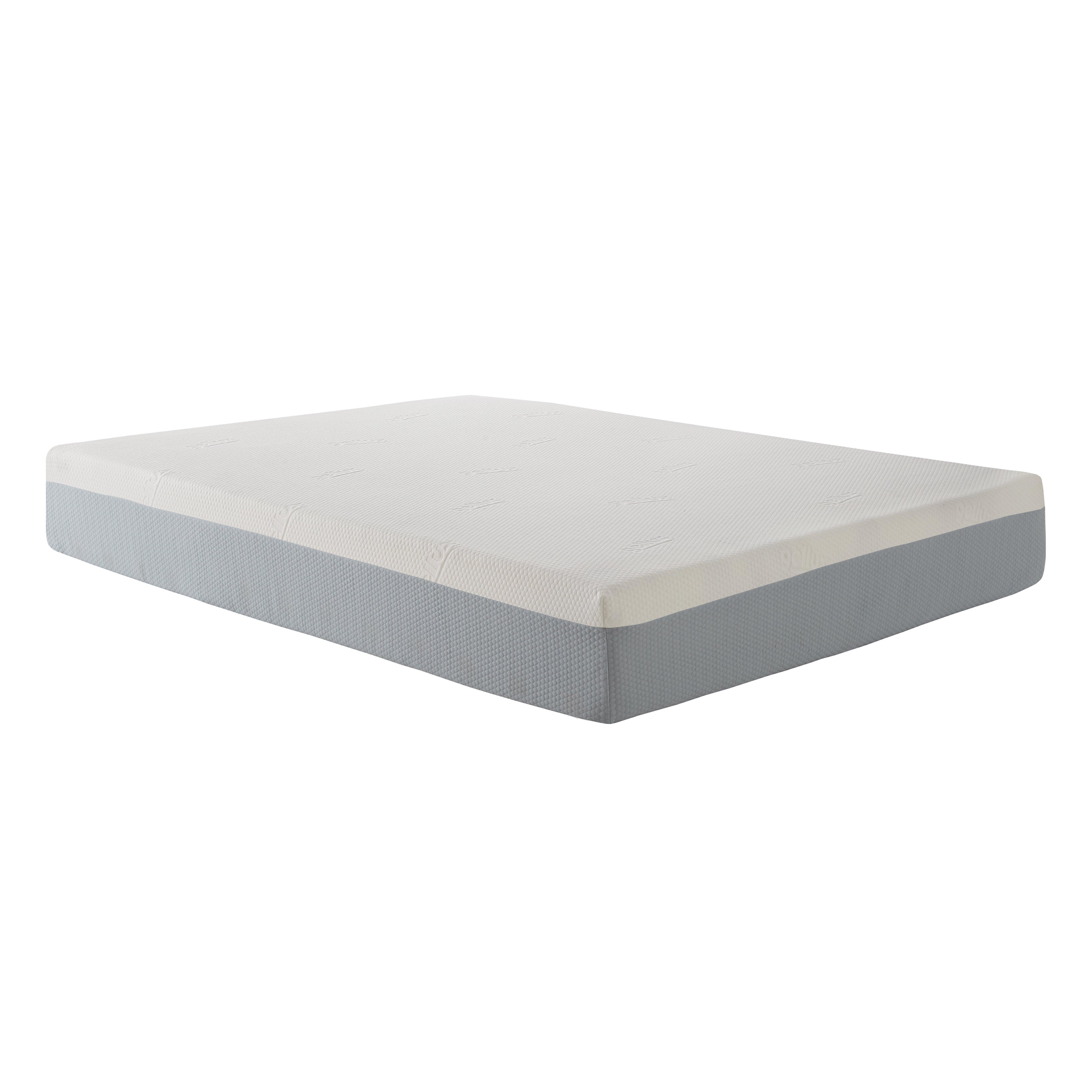 """Eco Lux 10"""" Memory Foam Mattress & Reviews"""