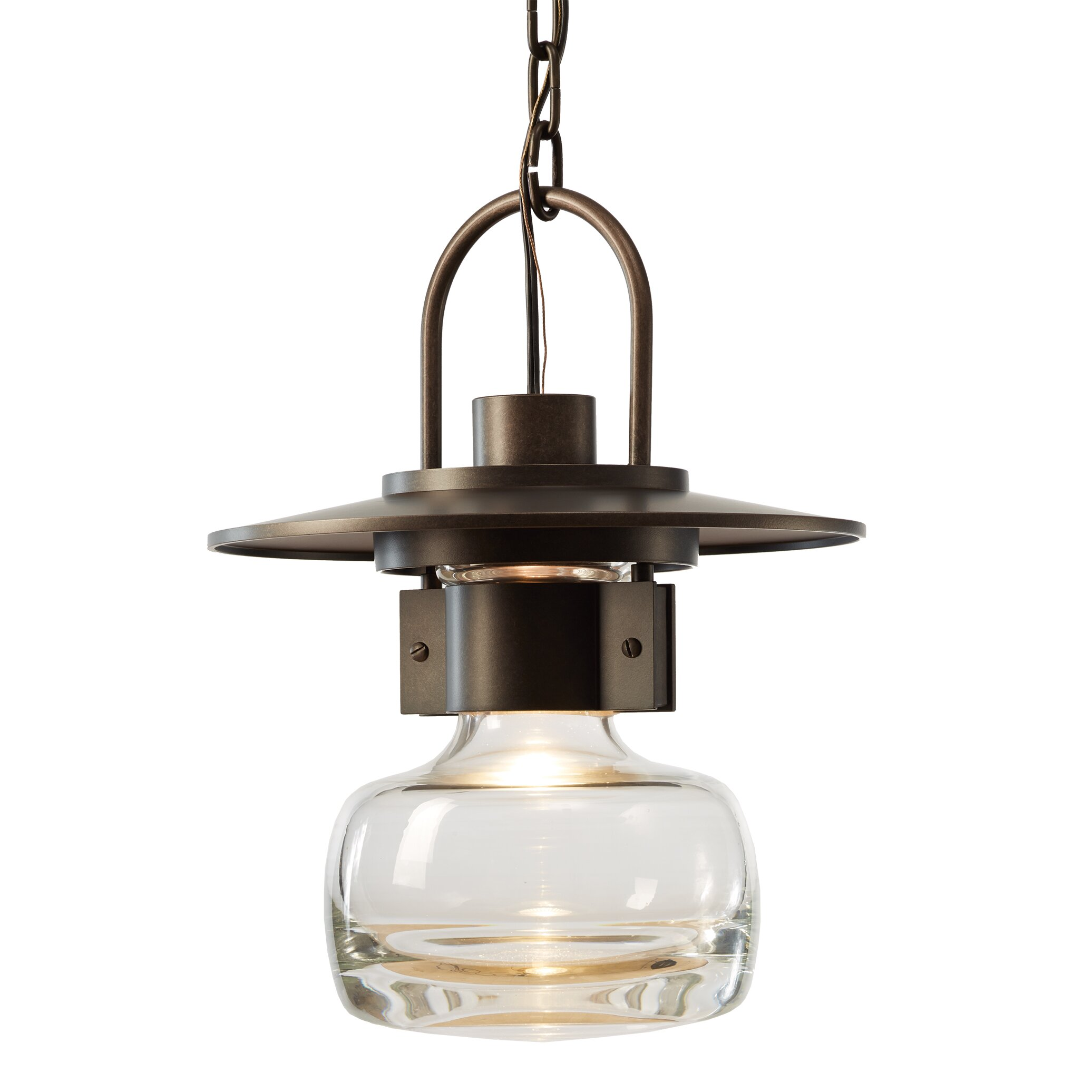 Hubbardton Forge Mason 1 Light Outdoor Hanging Lantern Wayfair