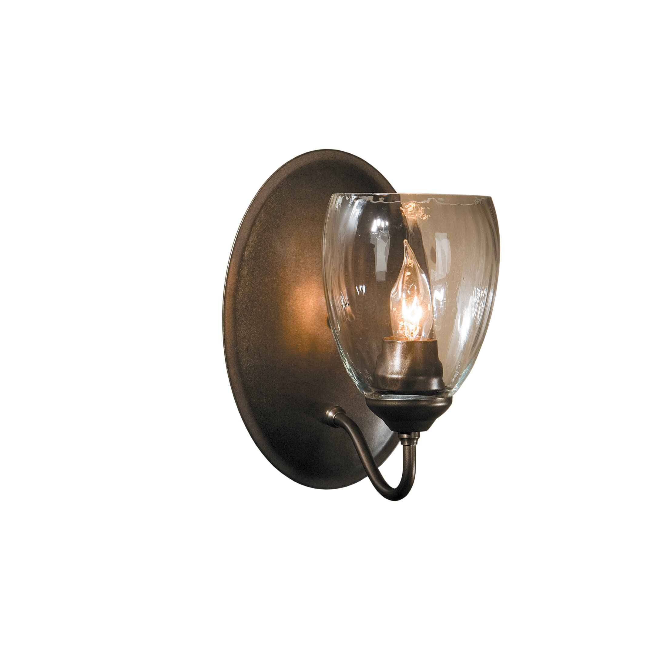 Wall Sconce With Magnifying Glass : Hubbardton Forge 1 Light Wall Sconce & Reviews Wayfair