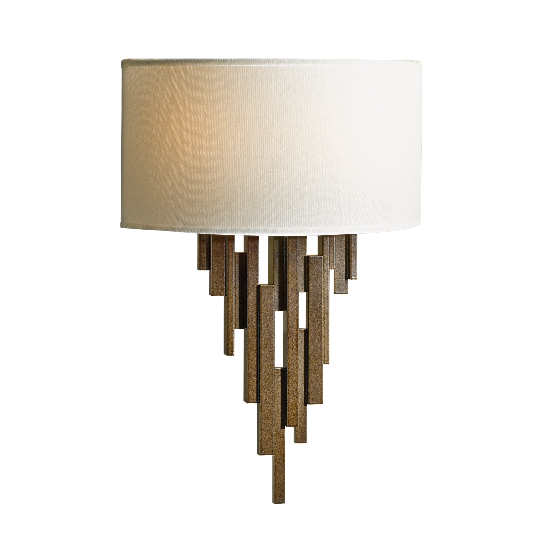 Wall Sconces 2 Lights : Hubbardton Forge Echelon 2 Light Wall Sconce & Reviews Wayfair