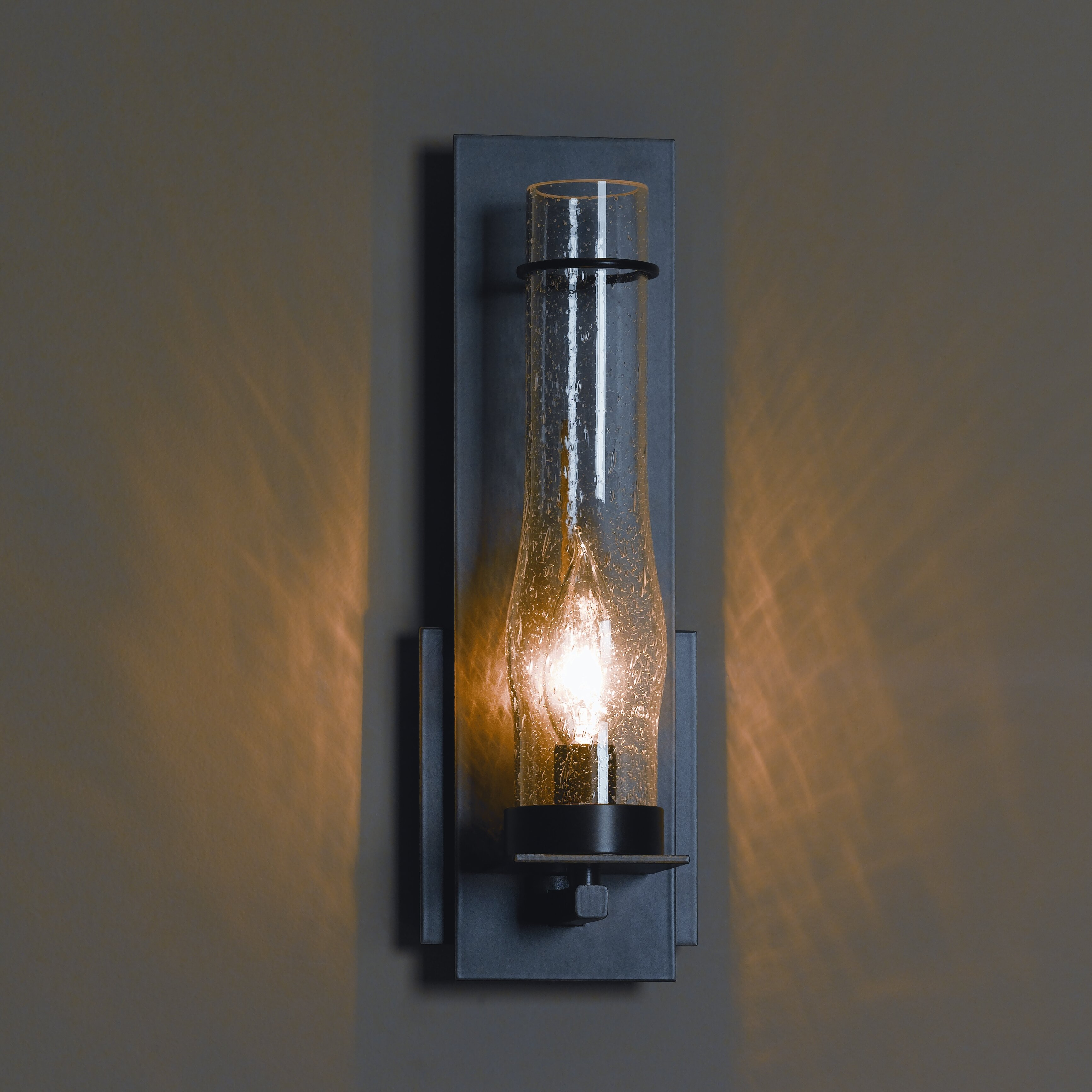 hubbardton forge bathroom lighting hubbardton forge new town 1 light wall sconce amp reviews 18781