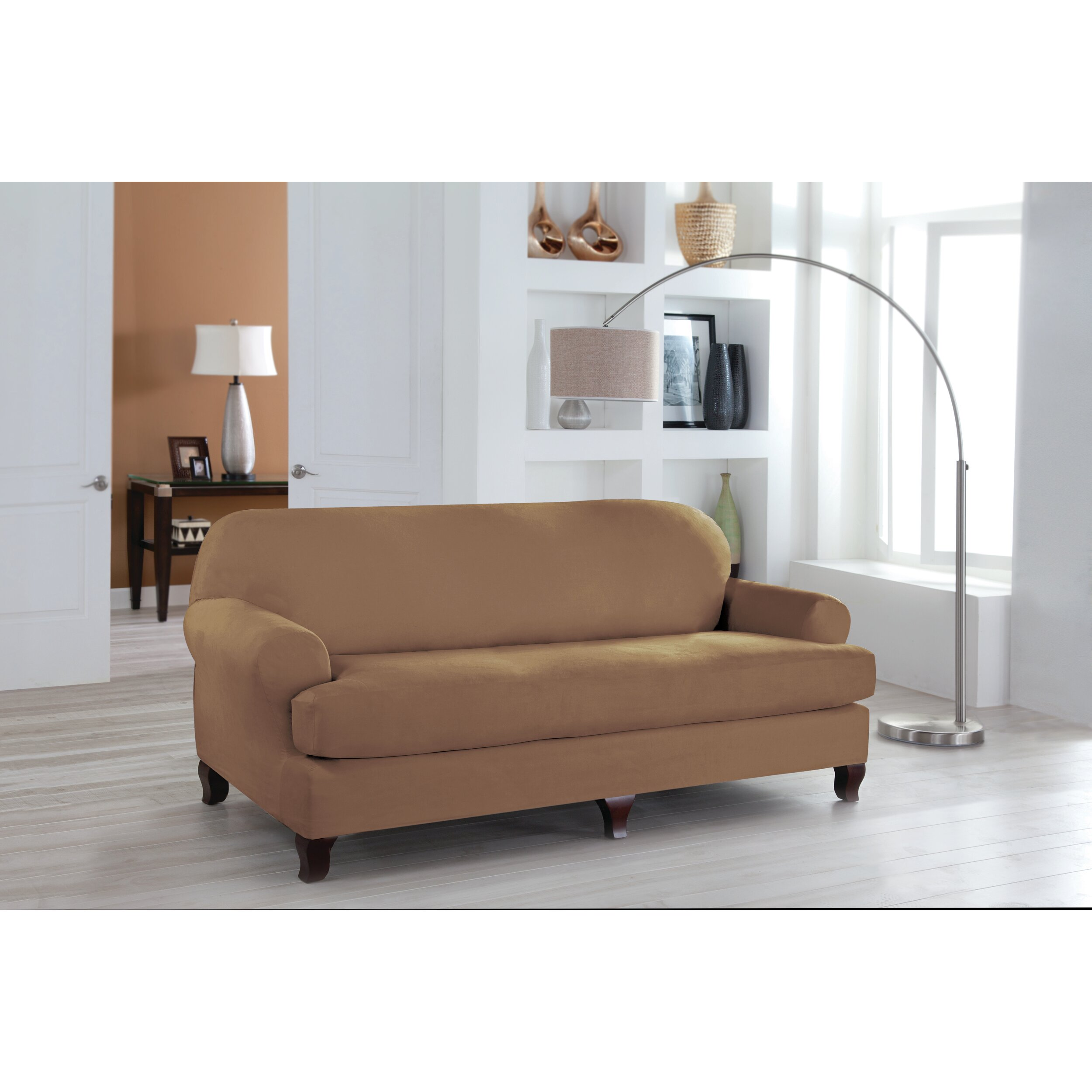 Perfect Fit Industries Tailor Fit Sofa T Cushion Slipcover