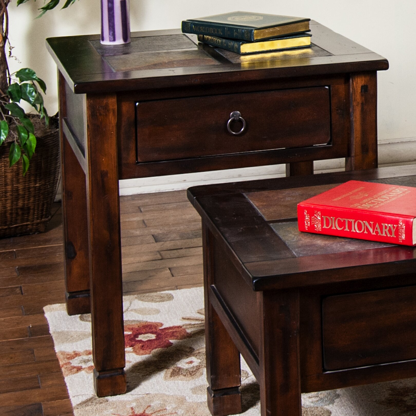 Sunny Designs Santa Fe Coffee Table Set Reviews