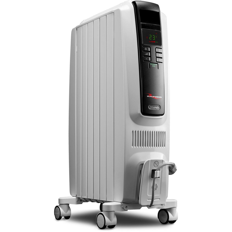 1,500 Watt Portable Electric Radiant Radiator Heater with Electronic