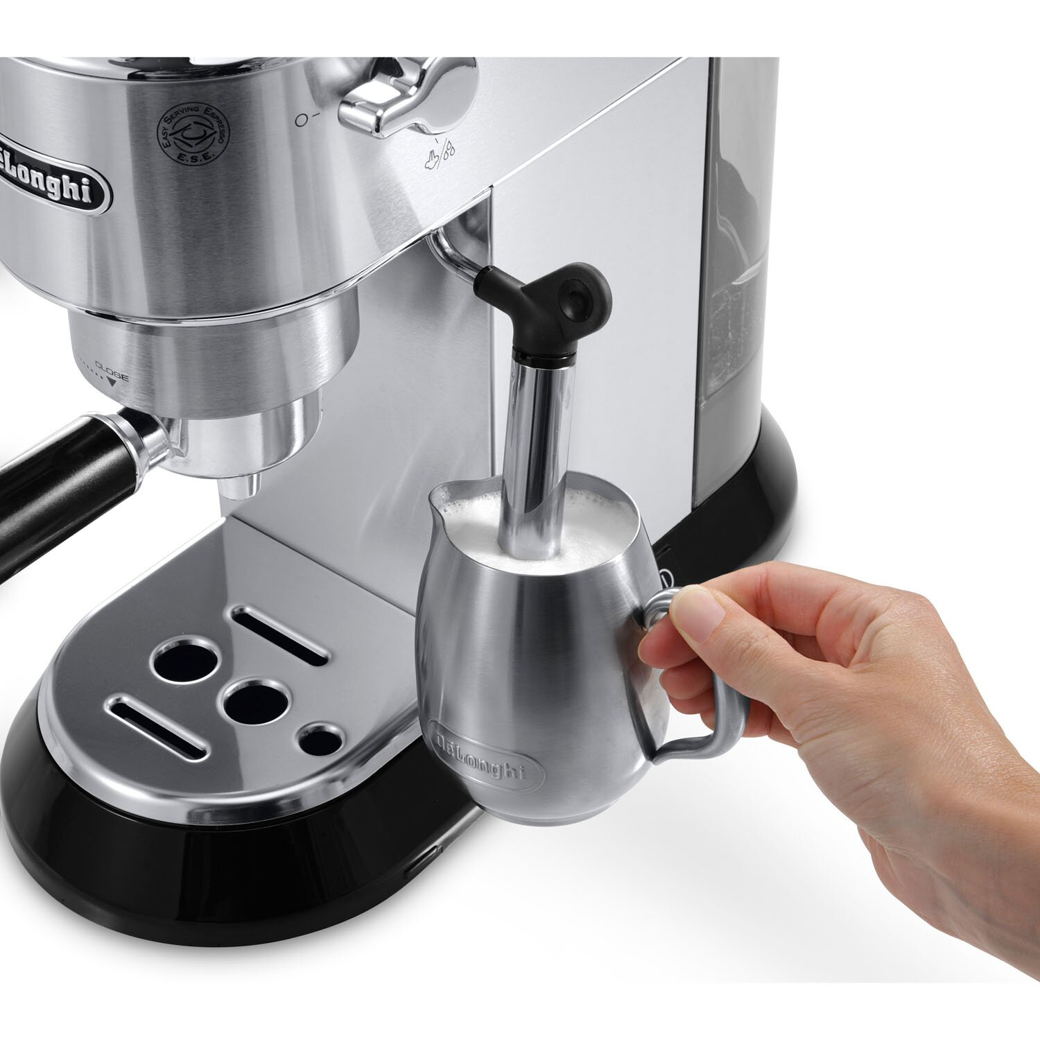 DeLonghi Dedica 15-Bar Pump Espresso Machine with ...