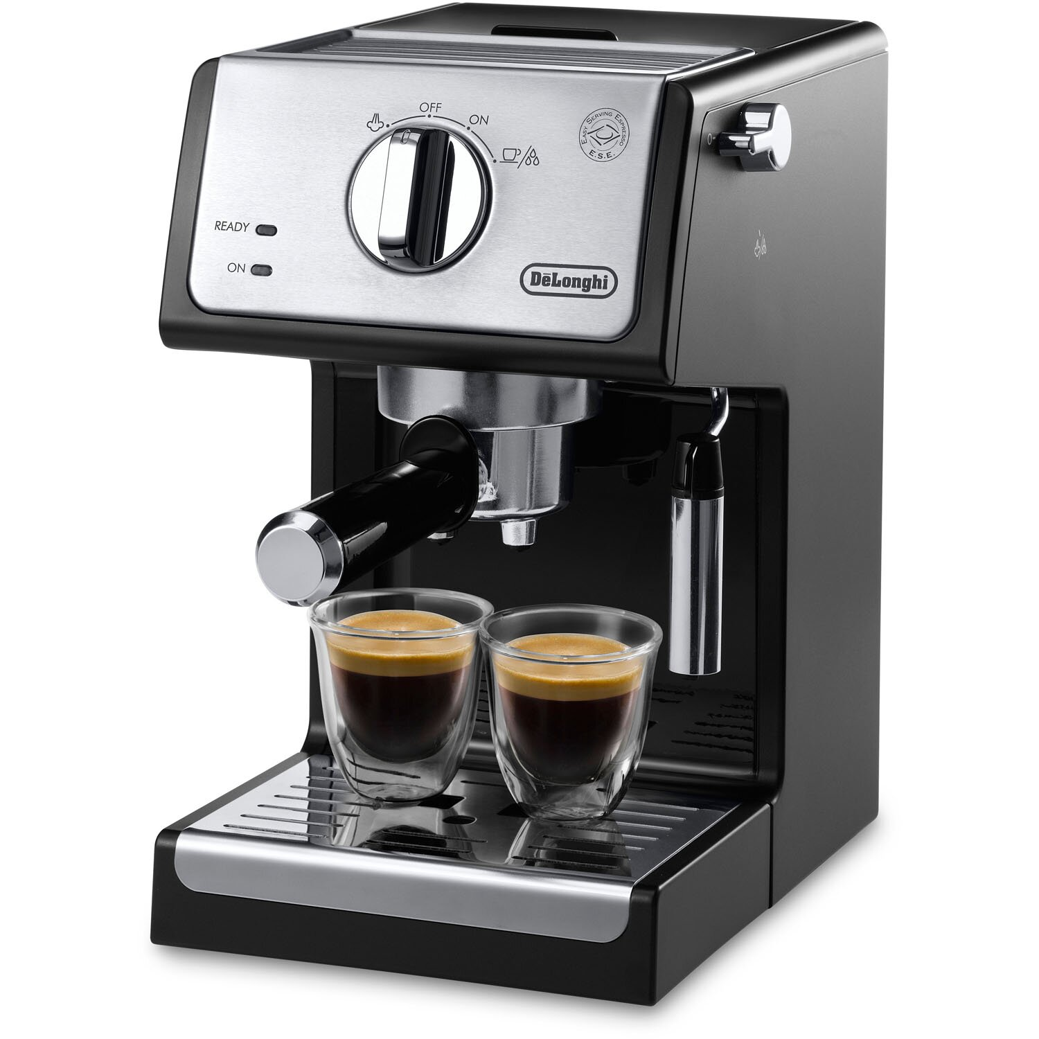 delonghi 15 bar pump coffee espresso maker reviews wayfair. Black Bedroom Furniture Sets. Home Design Ideas