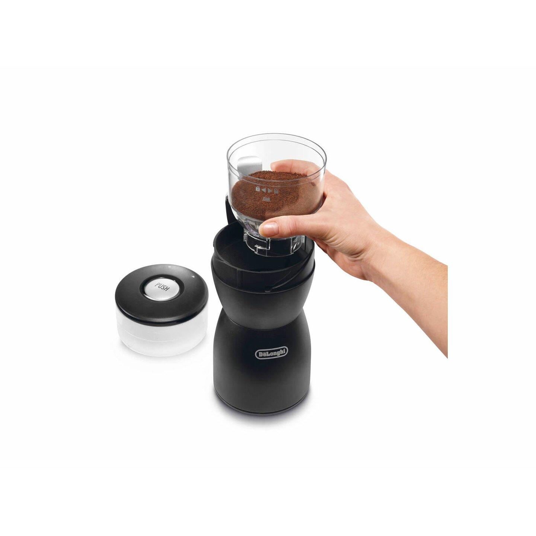 delonghi electric blade coffee grinder reviews wayfair. Black Bedroom Furniture Sets. Home Design Ideas