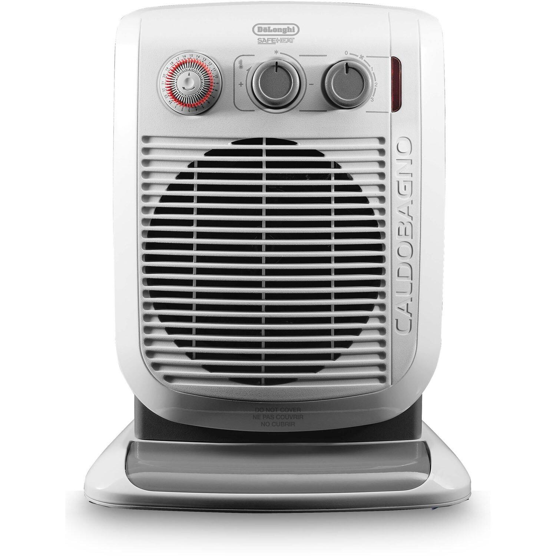 DeLonghi 1,500 Watt Portable Bathroom-Safe Electric Fan Heater