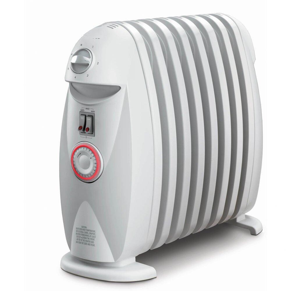 Delonghi safe heat oil filled radiator - Delonghi Safeheat 1200w Portable Oil Filled Radiator
