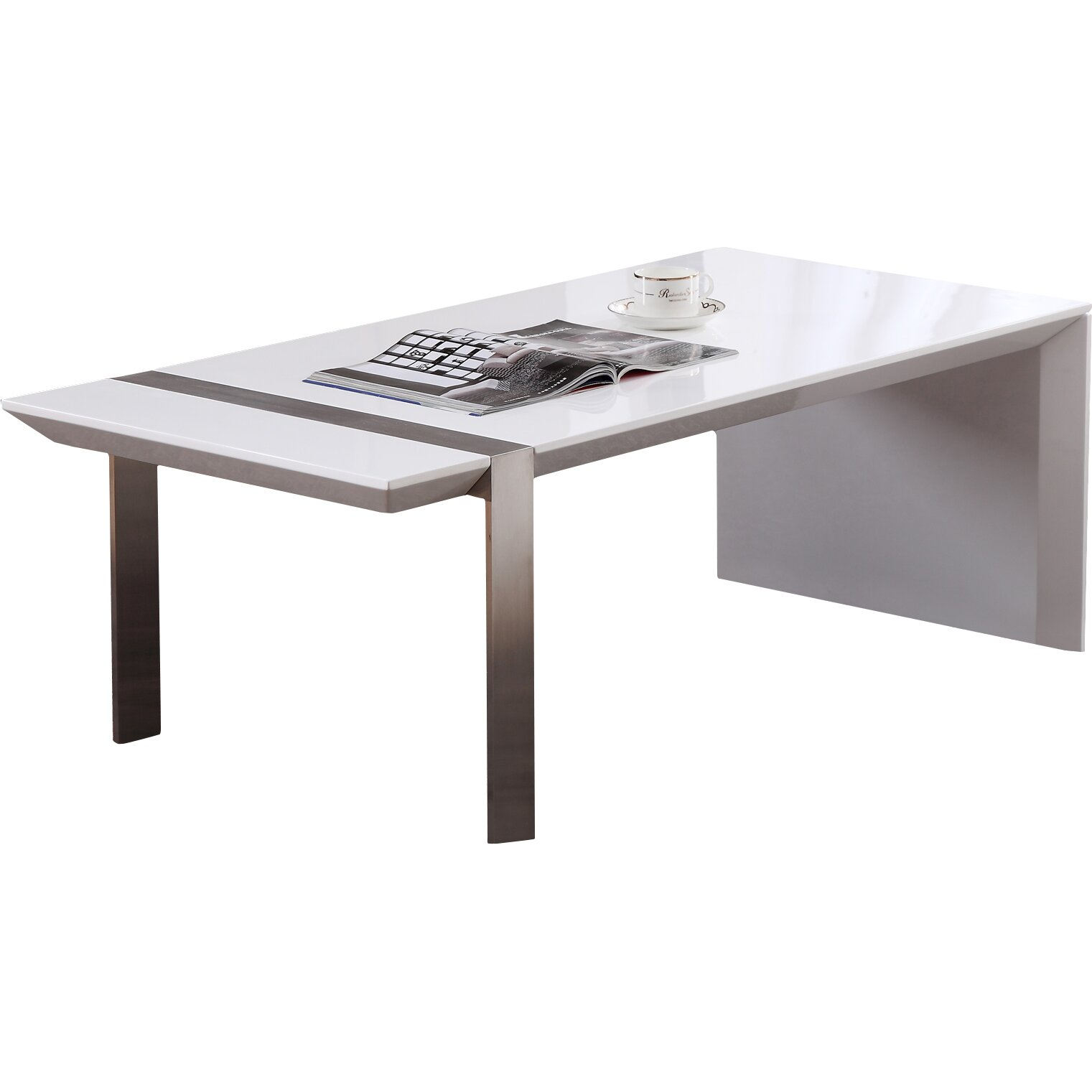 B Modern Director Coffee Table Wayfair