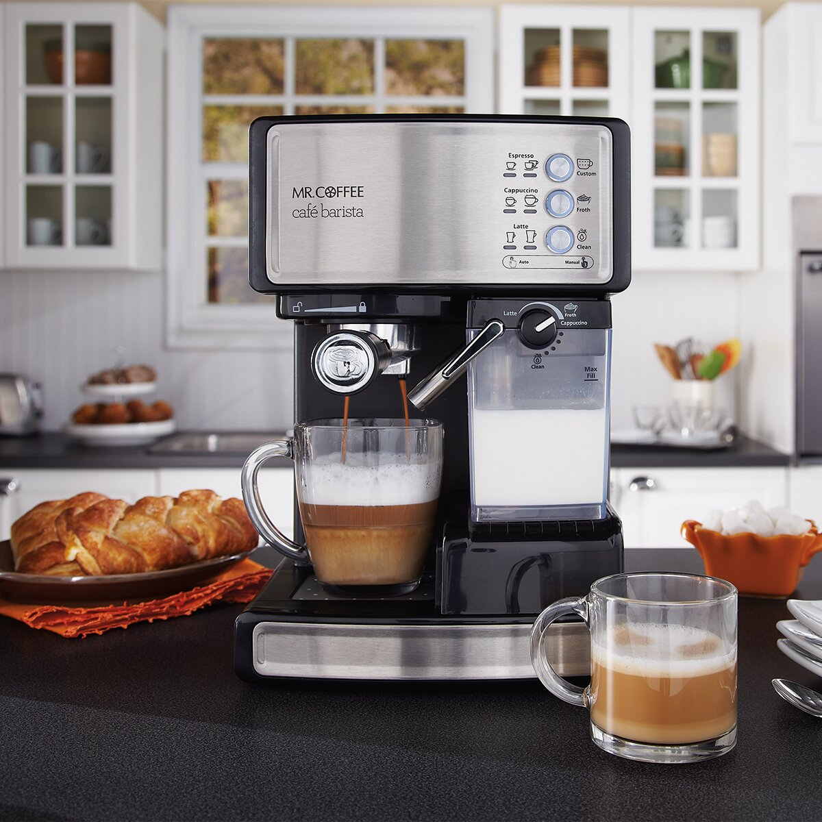 mr coffee barista espresso machine
