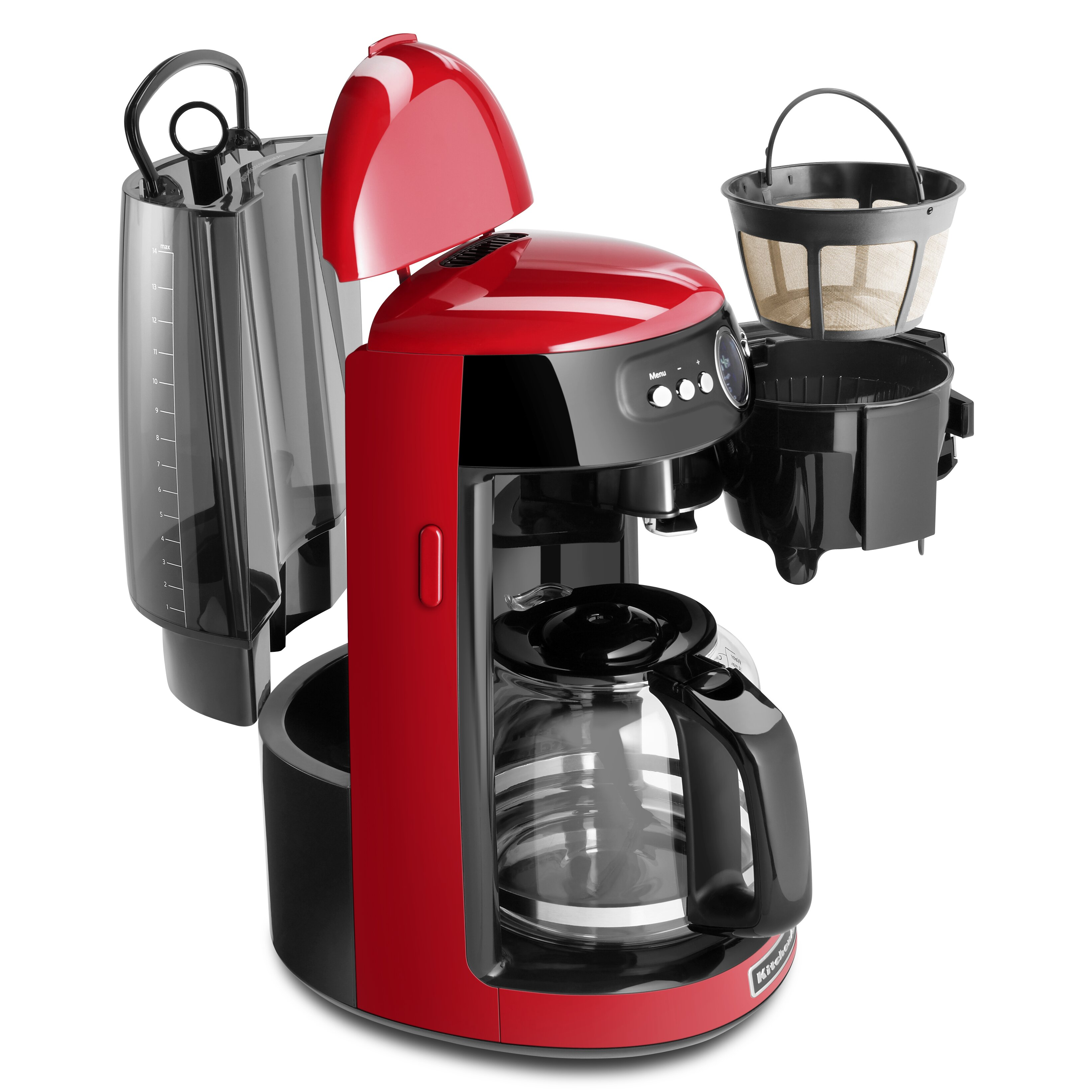 Coffee Maker With Carafe Reviews : KitchenAid 14 Cup Glass Carafe Coffee Maker & Reviews Wayfair