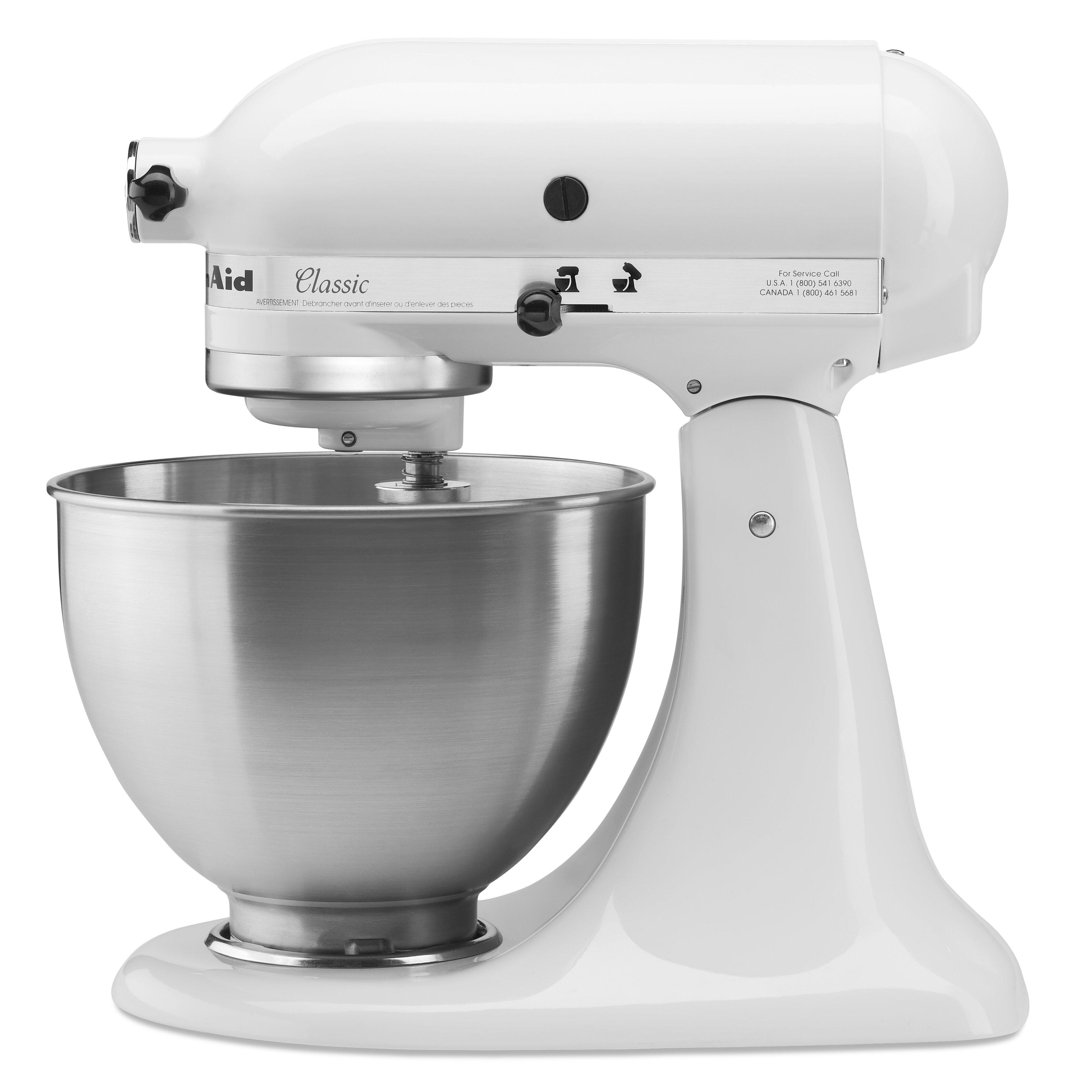 Kitchenaid classic series 4 5 qt stand mixer reviews wayfair - Kitchenaid qt mixer review ...