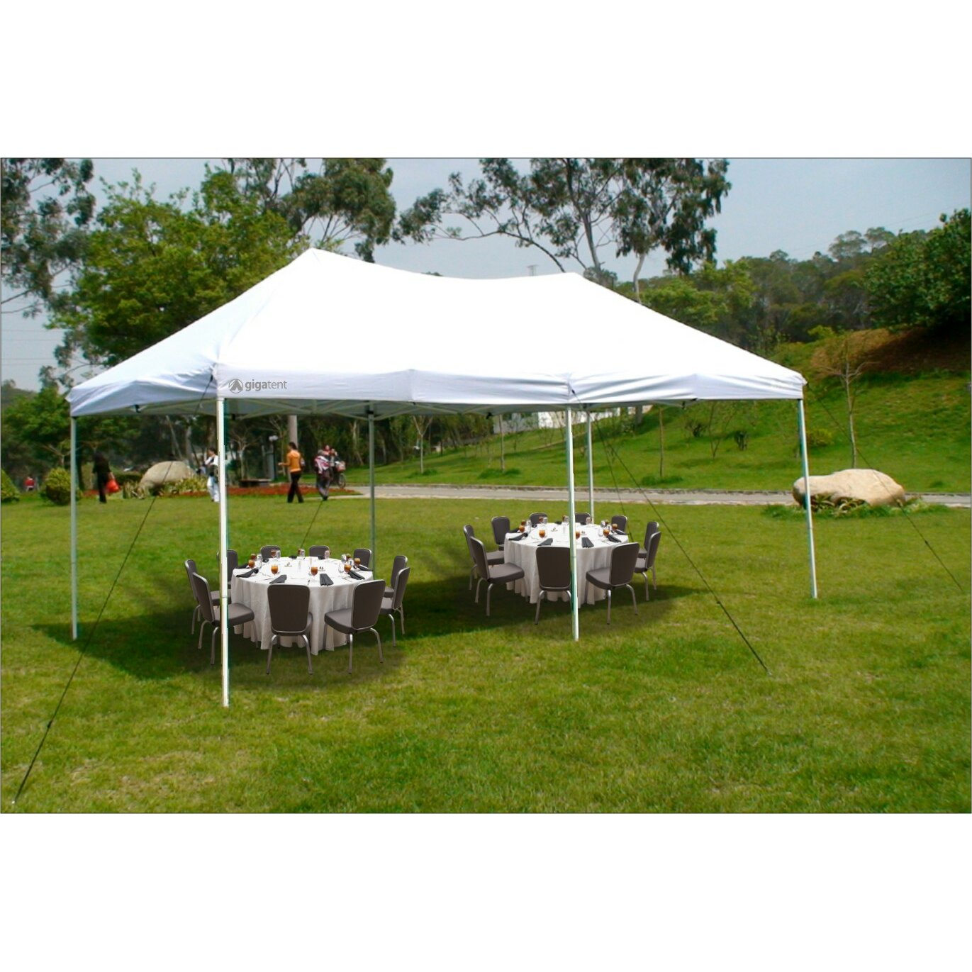 10 Ft 10 Ft Canopy : Gigatent the party ft w d canopy reviews