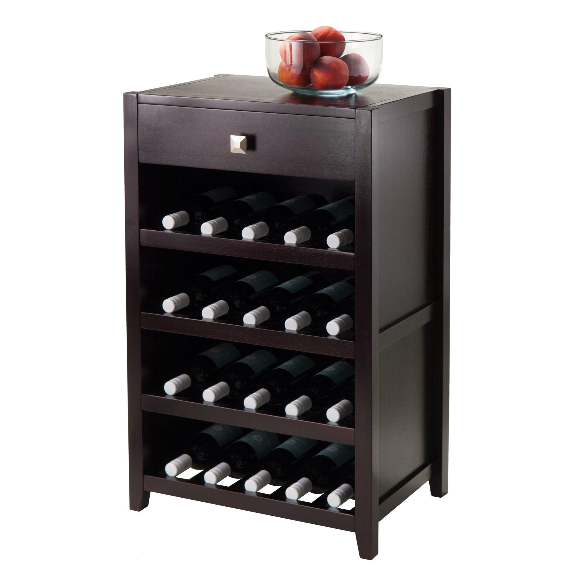 Luxury Home Zillah 20 Bottle Wine Bar