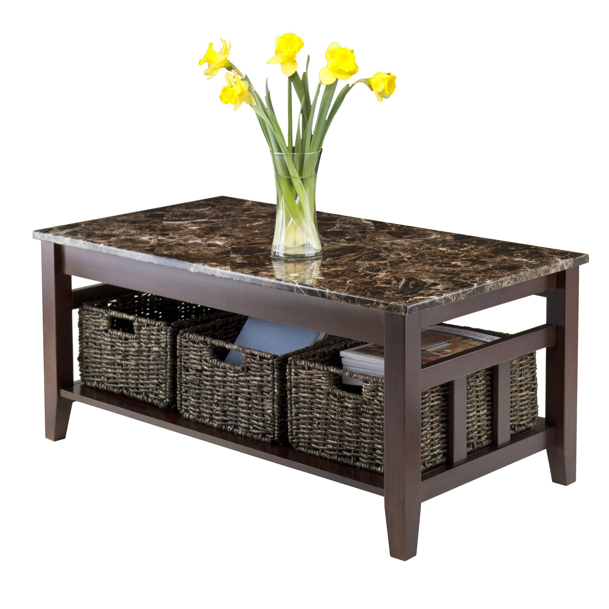 Luxury Home Zoey Top Coffee Table Wayfair