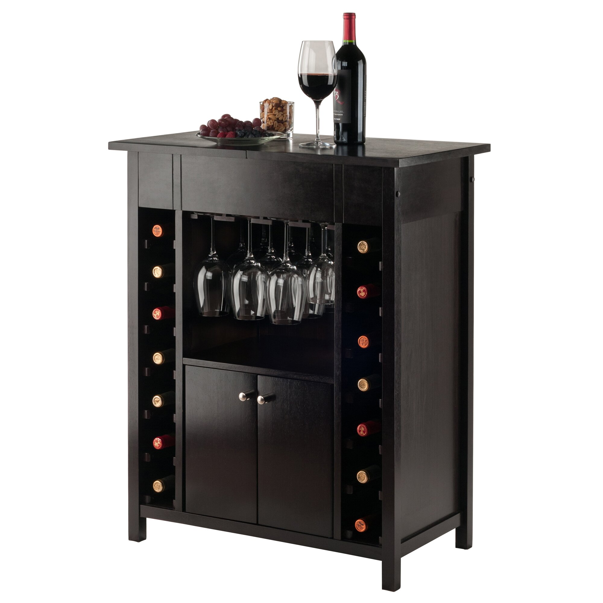 Luxury Home Bar Cabinet Wayfair