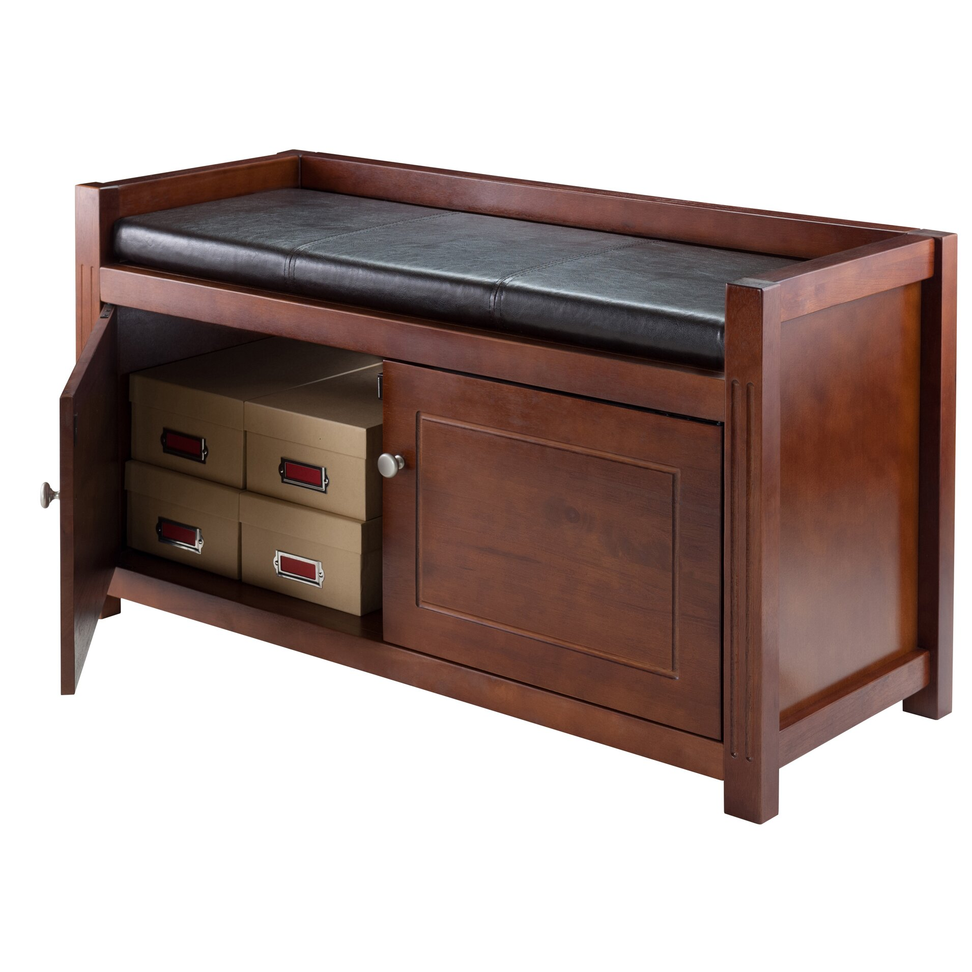 Luxury Home Storage Entryway Bench Wayfair