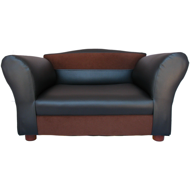 Keet Two Toned Mini Dog Sofa Reviews Wayfair