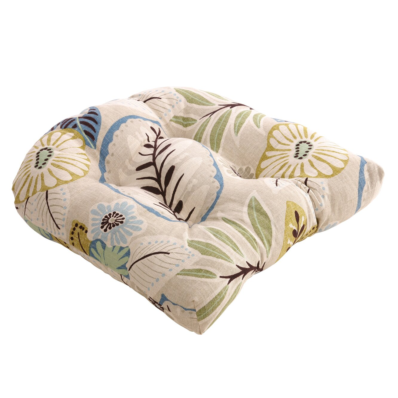 Pillow Perfect Tropical Outdoor Chair Cushion Amp Reviews