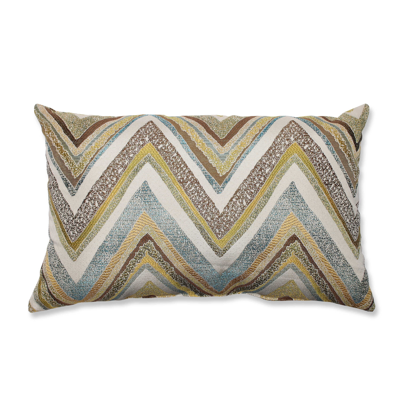 Pillow Perfect Zig Zag Lumbar Pillow & Reviews Wayfair