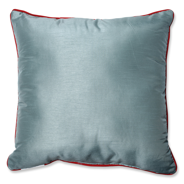 Pillow Perfect Christmas Wreath Throw Pillow & Reviews Wayfair