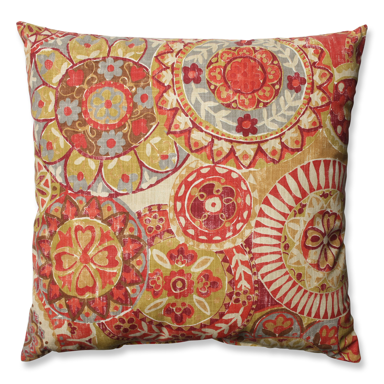 Throw Pillow Wayfair : Pillow Perfect Indira Cardinal Cotton Throw Pillow & Reviews Wayfair