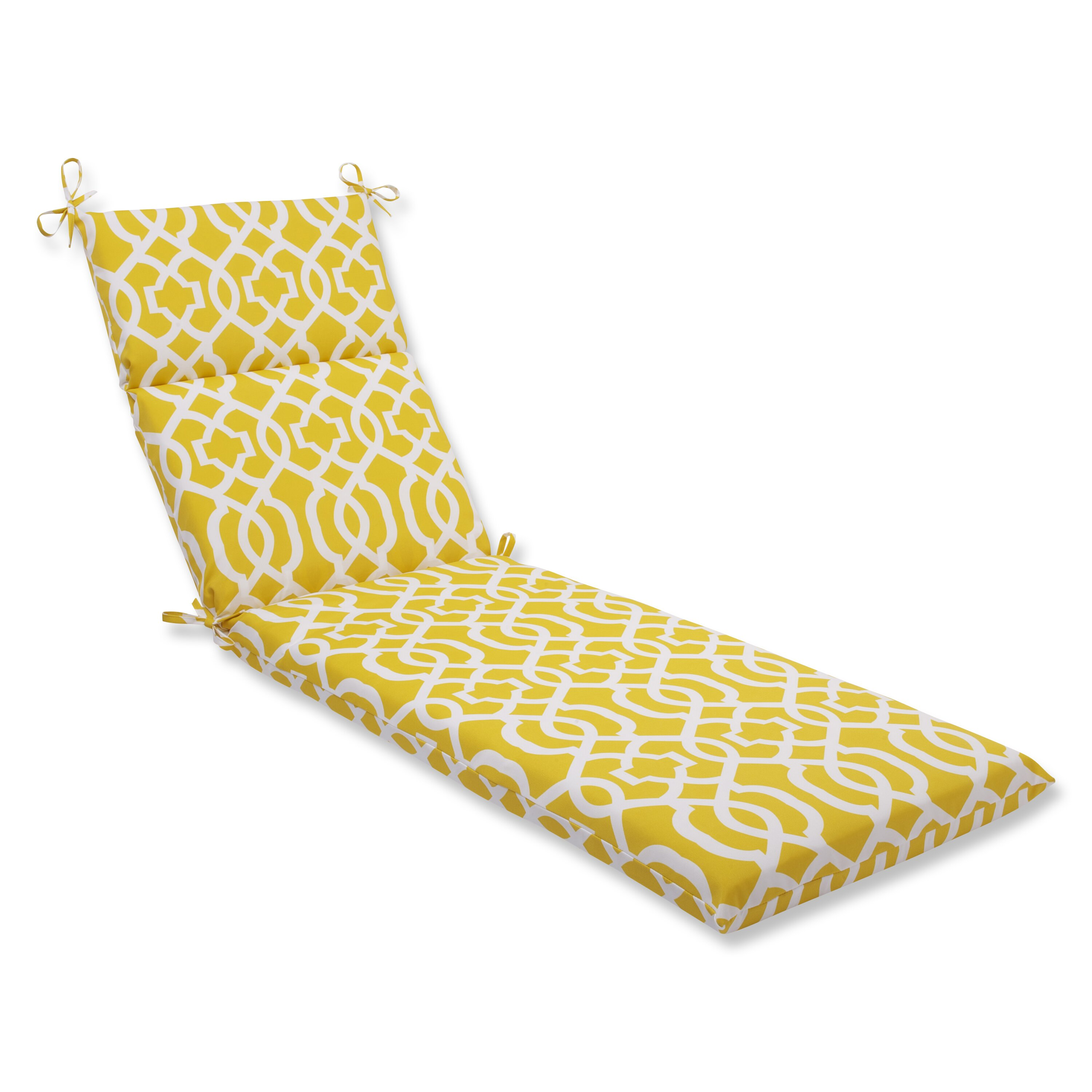 Pillow perfect new geo chaise outdoor chaise lounge for Buy chaise lounge cushion