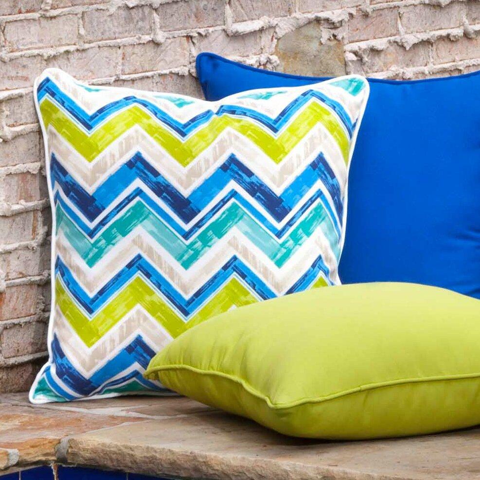 Pillow Perfect Marquesa Marine Indoor/Outdoor Floor Pillow Wayfair