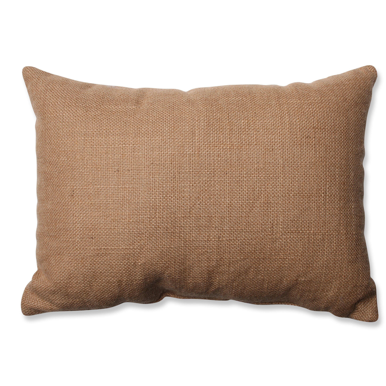 Jute Decorative Pillows : Pillow Perfect Geometric Jute Throw Pillow Wayfair