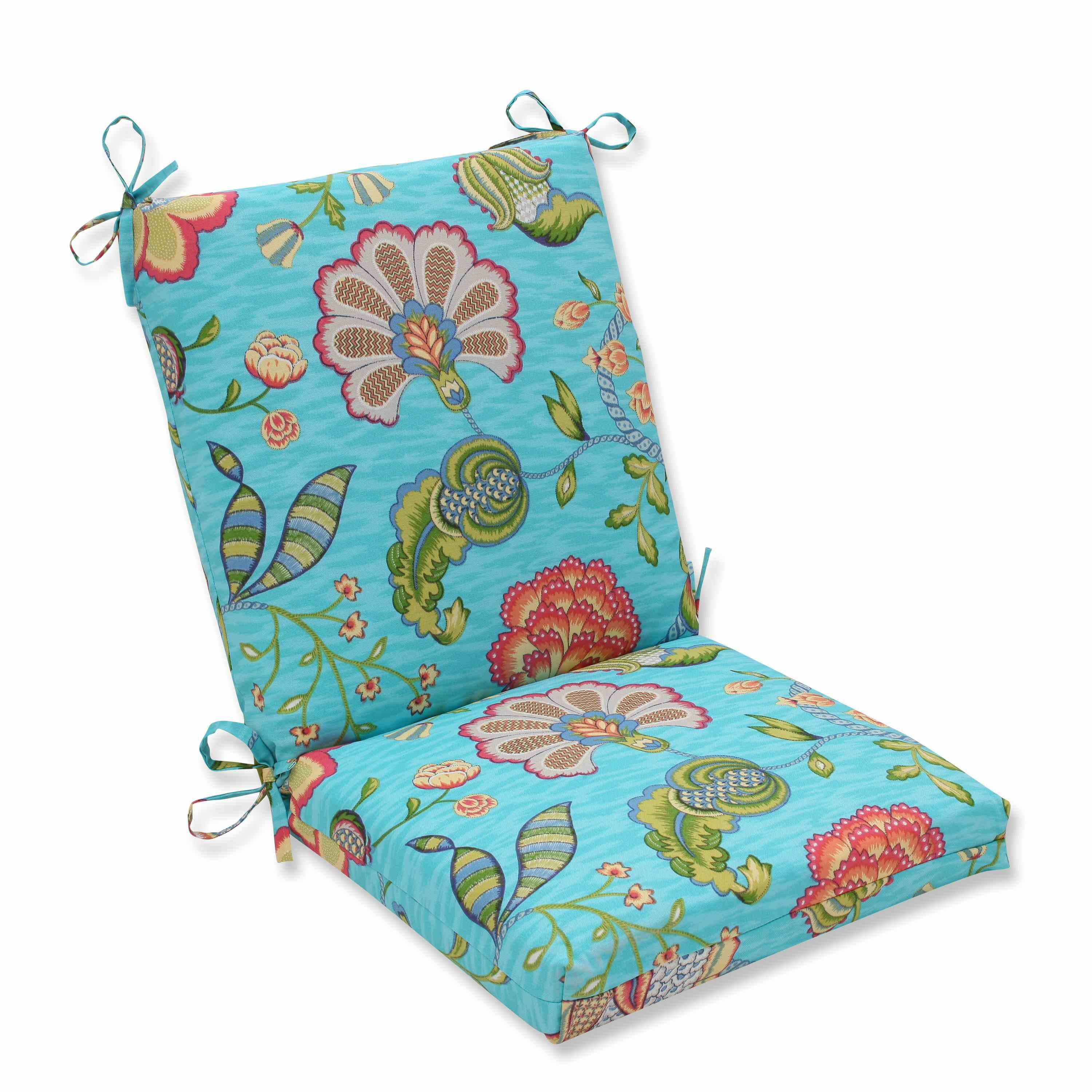 Pillow Perfect Arabella Outdoor Dining Chair Cushion