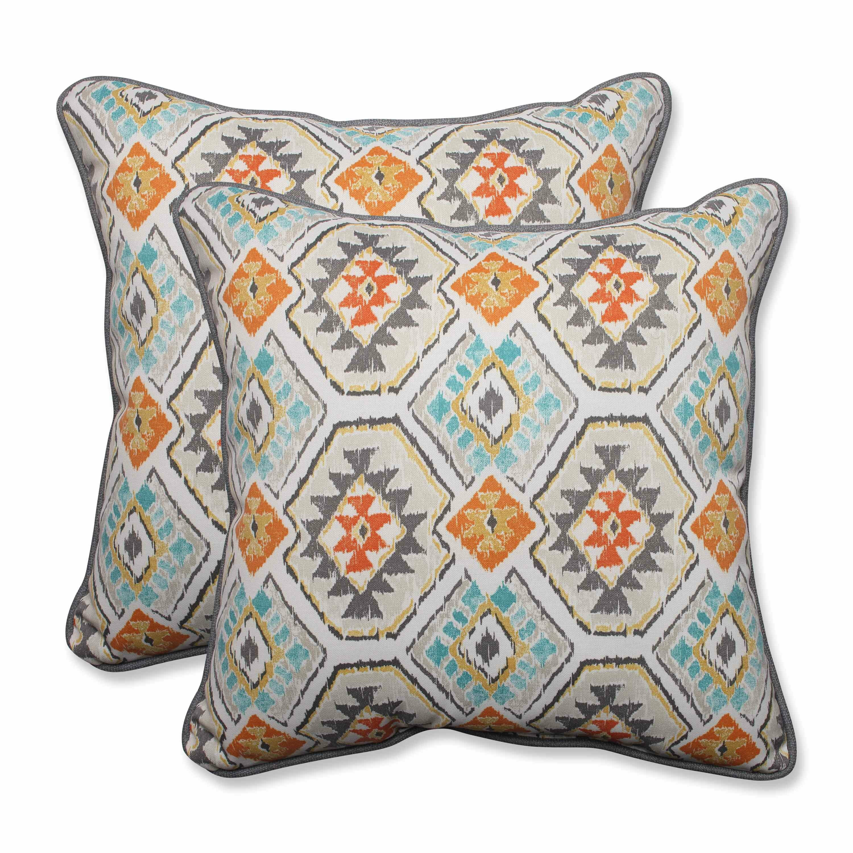 Pillow Perfect Eresha Oasis Outdoor/Indoor Throw Pillow Wayfair