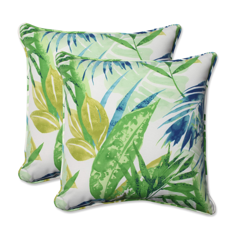 Pillow Perfect Soleil Indoor/Outdoor Throw Pillow & Reviews Wayfair