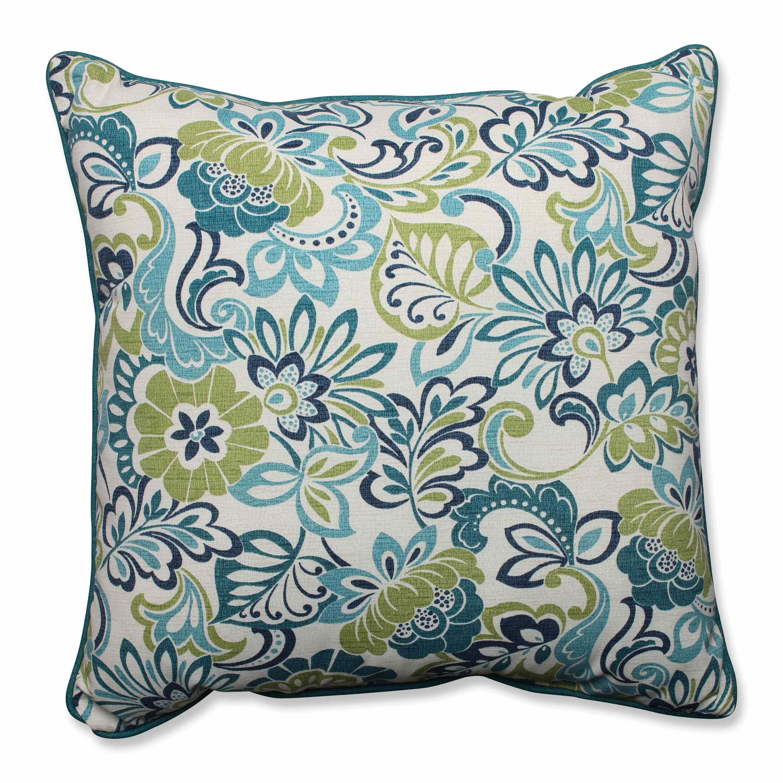 Pillow Perfect Zoe Mallard Indoor/Outdoor Floor Pillow & Reviews Wayfair