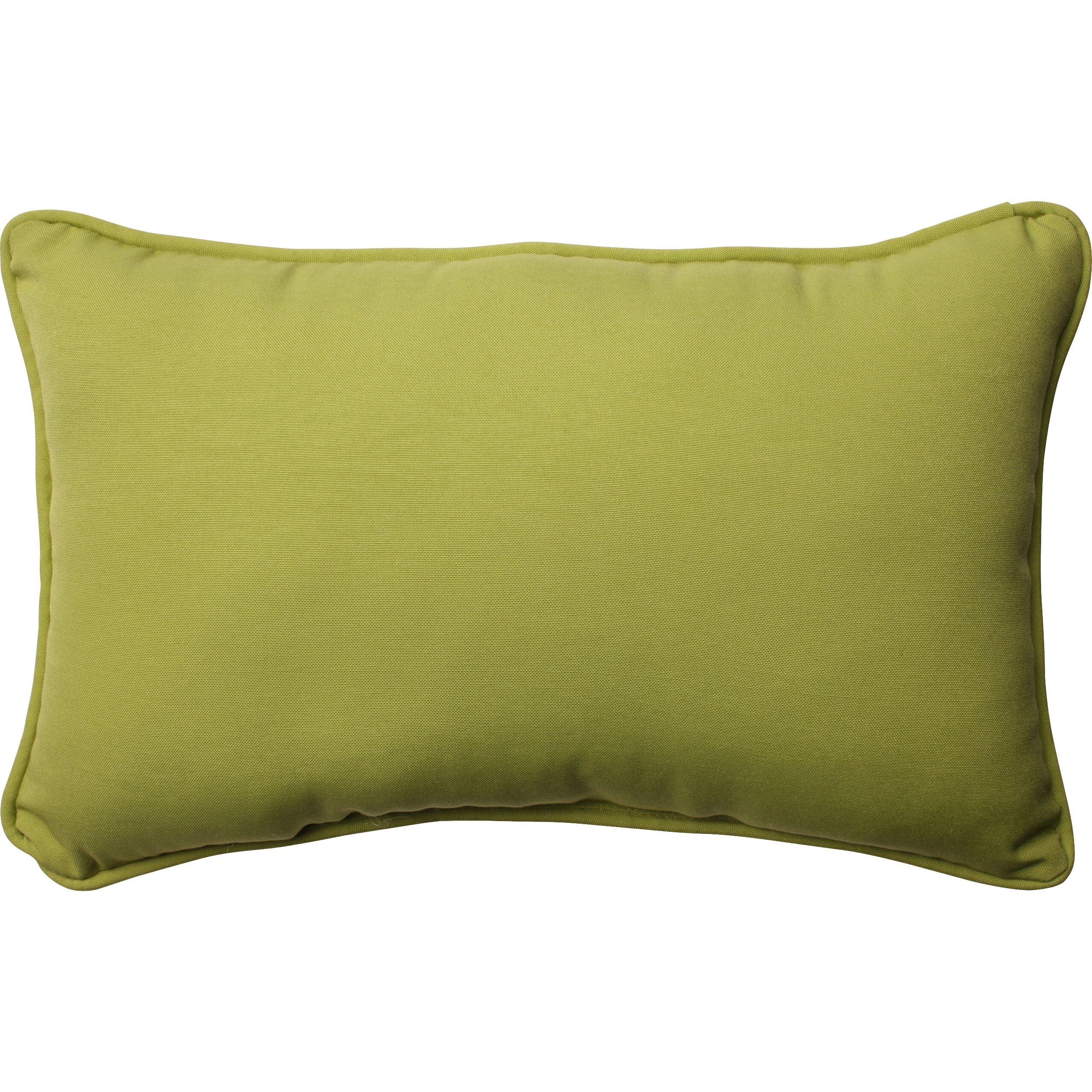 Wayfair Green Throw Pillows : Pillow Perfect Fresco Pear Indoor/Outdoor Throw Pillow & Reviews Wayfair