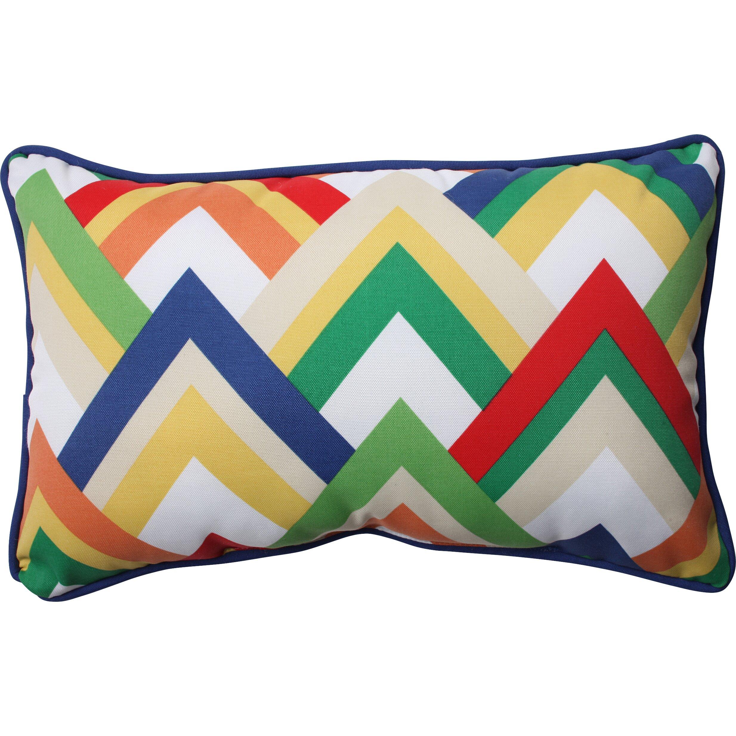 Throw Pillow Wayfair : Pillow Perfect Indoor/Outdoor Throw Pillow & Reviews Wayfair
