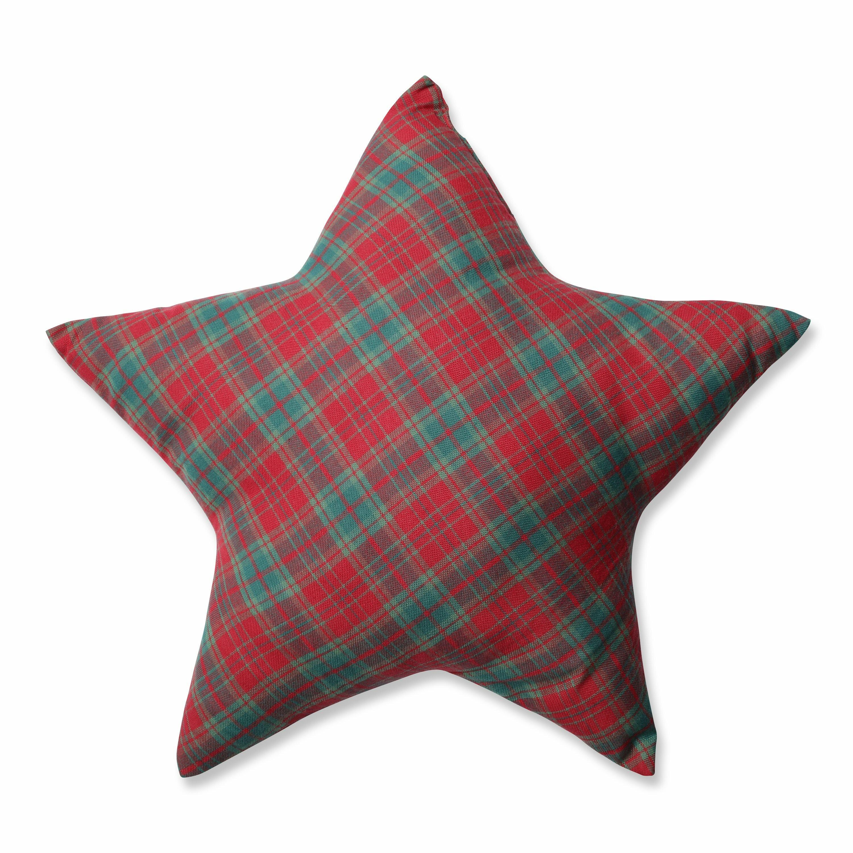 Throw Pillows With Stars : Pillow Perfect Plaid Star Throw Pillow & Reviews Wayfair