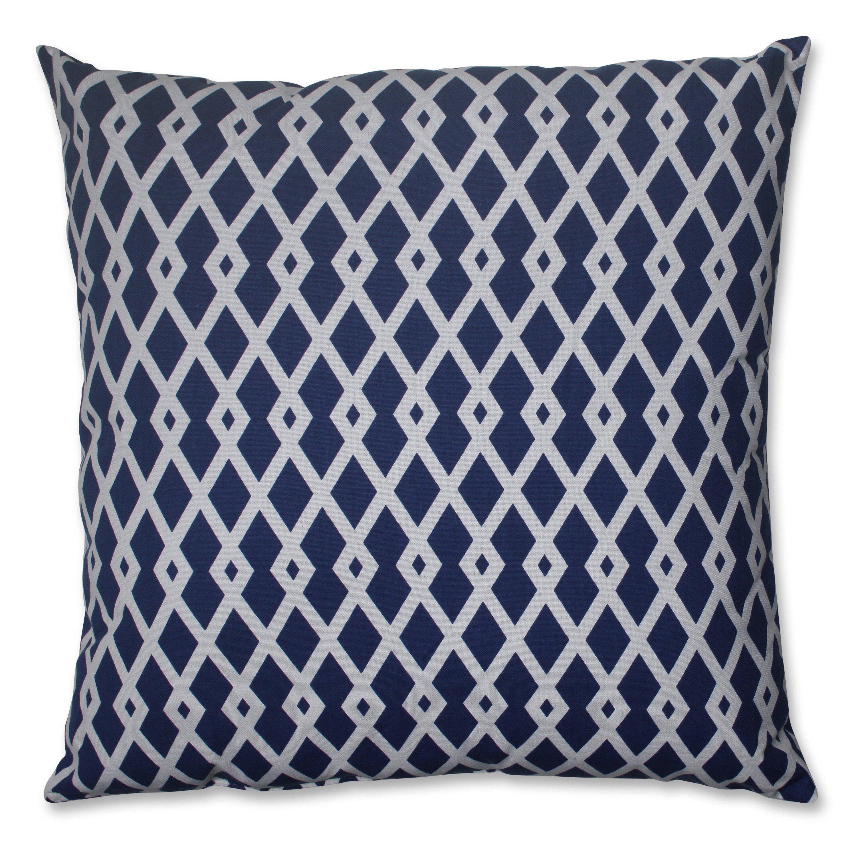 Large Floor Pillows Cotton : Pillow Perfect Cotton Floor Pillow & Reviews Wayfair