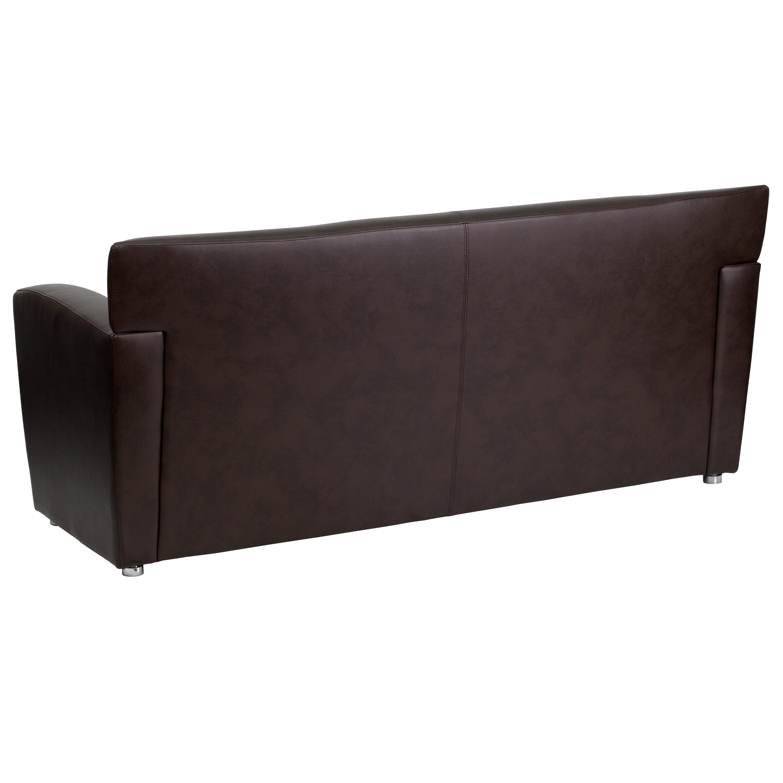 Flash Furniture Hercules Majesty Series Leather Sofa Reviews Wayfair