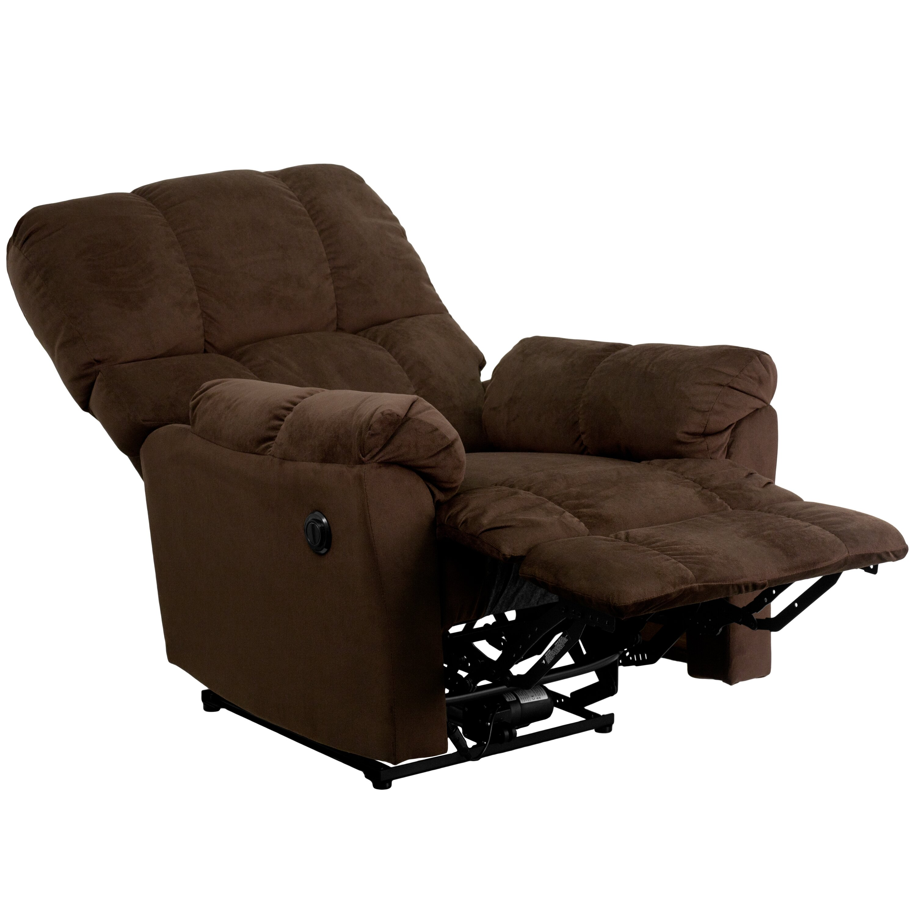 Flash furniture contemporary microfiber power recliner for Electric recliners reviews