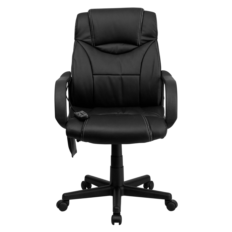 Flash Furniture Leather Executive Chair Reviews Wayfair