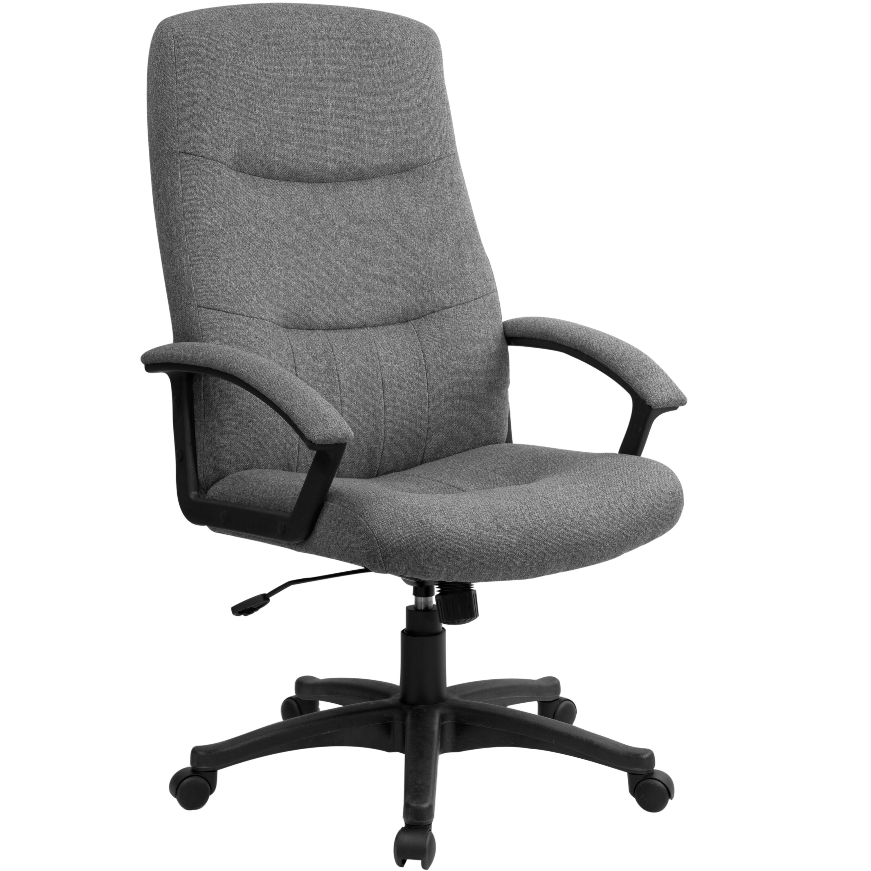 Flash Furniture High Back Fabric Executive Chair Reviews Wayfair