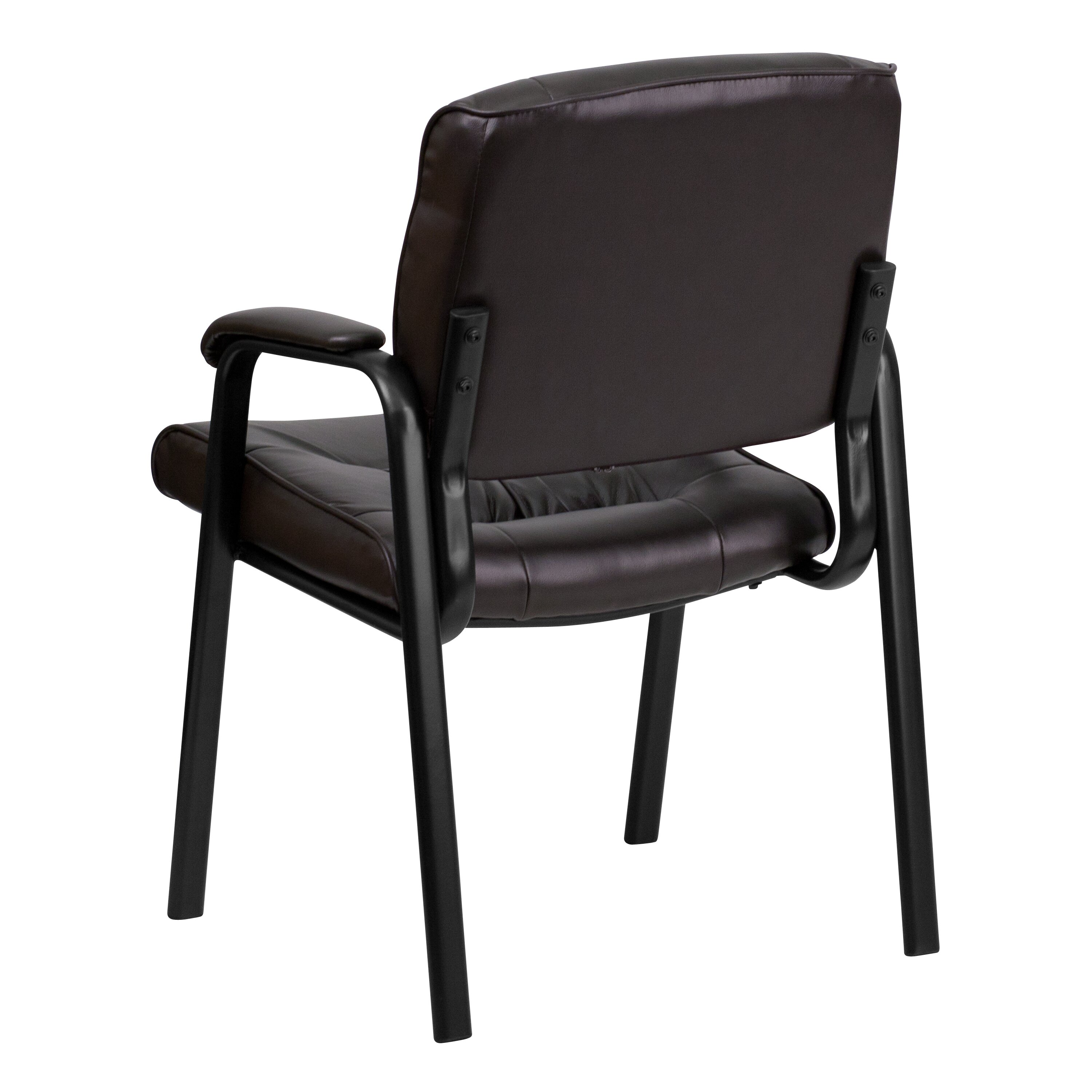 Flash Furniture Personalized Leather Reception Chair Wayfair Supply