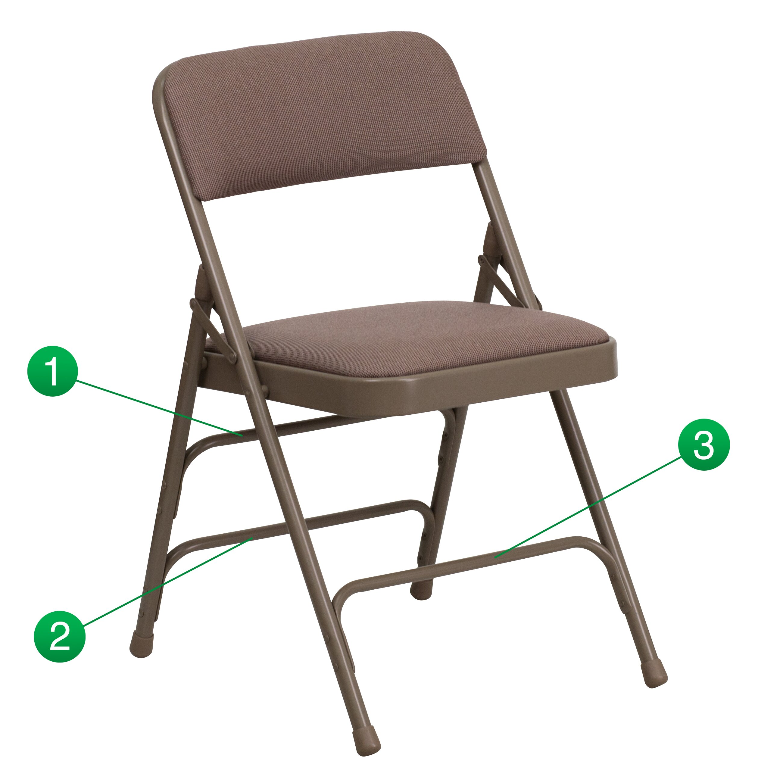 Flash Furniture Hercules Series Folding Chair & Reviews ...