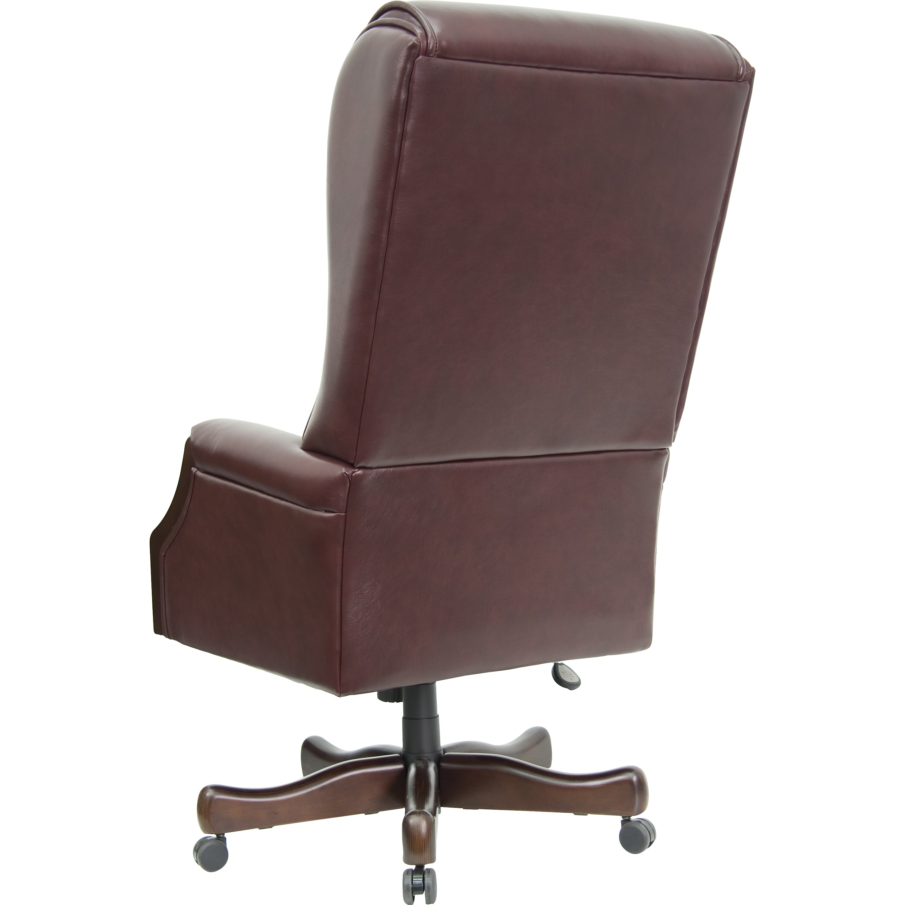 Flash Furniture High Back Leather Executive Office Chair Reviews Wayfair Supply