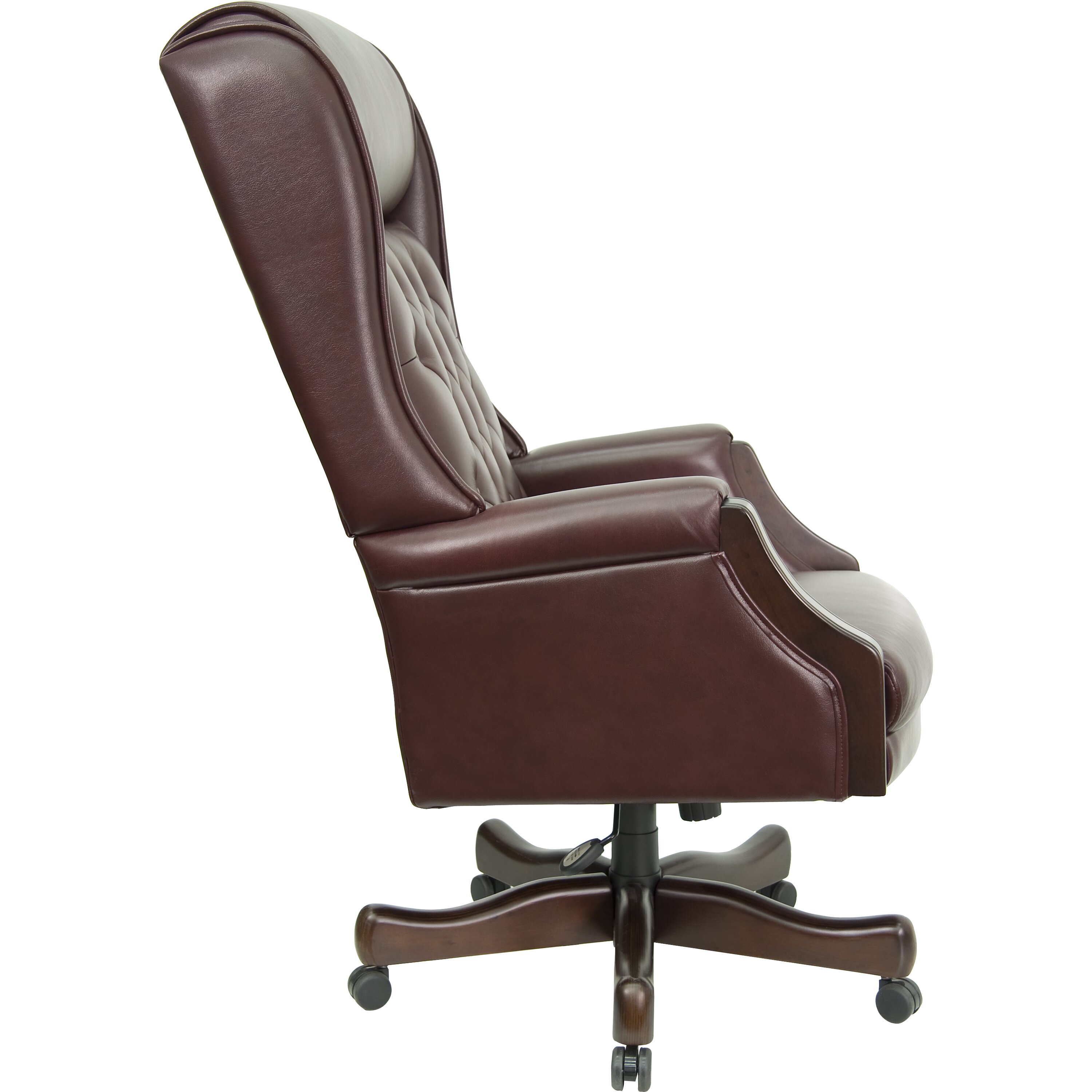 flash furniture high back leather executive office chair reviews