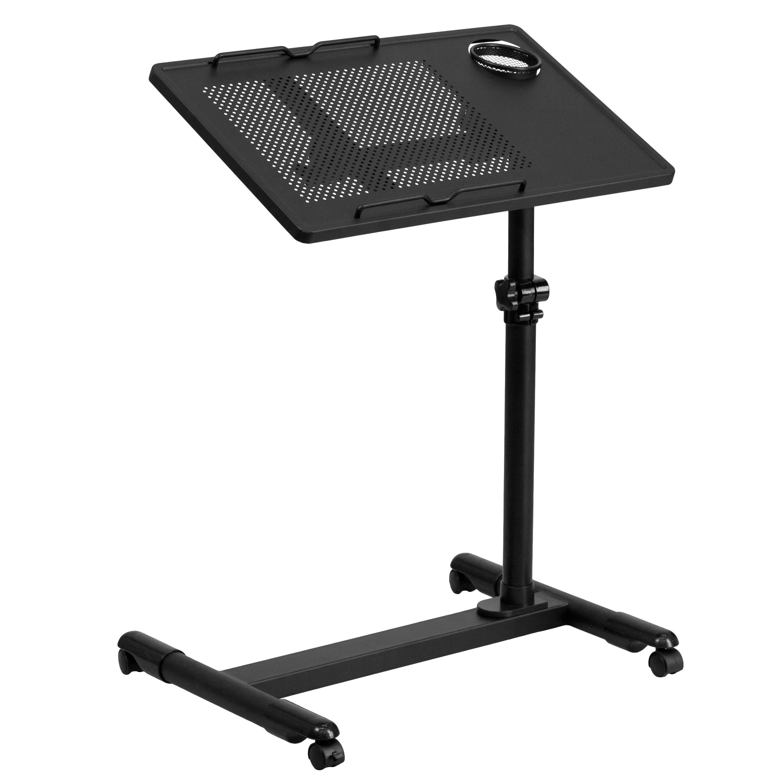Flash Furniture Adjustable Laptop Cart Reviews Wayfair Supply