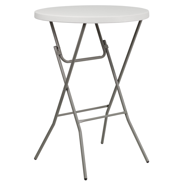 Flash Furniture Round Folding Table Reviews Wayfair
