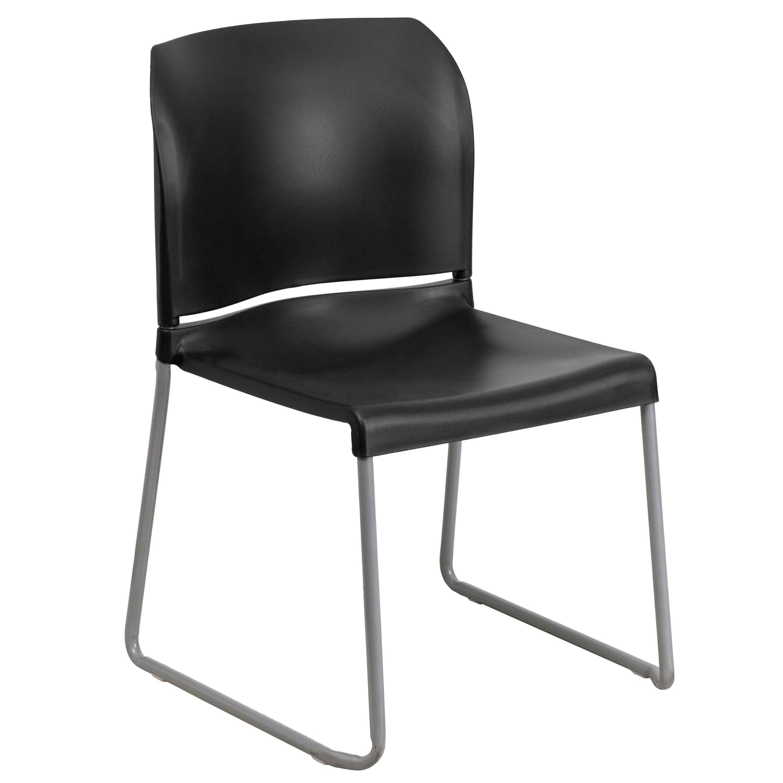 Flash Furniture Hercules Series Contoured Stack Guest Chair Reviews Wayfair
